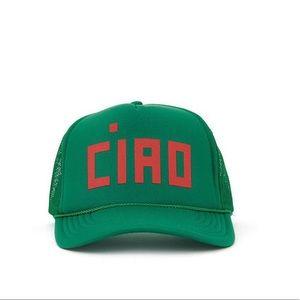 Clare V Ciao Trucker Hat